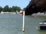 Quick Thinking Helps Avoid Disaster From Burning Boat