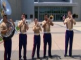 Quantico Marine Corps Band Gives Patriotic Performance