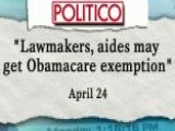 Report: Congress Tried To Exempt Itself From ObamaCare