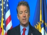 Rand Paul On Suing Obama, GOP Acting Like Dems