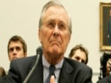 Rumsfeld On Ukraine, Obama-Putin, And America
