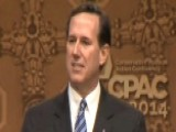 Rick Santorum Speaks At CPAC