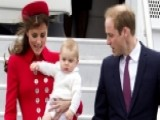 Royals Land In New Zealand