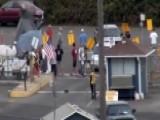 Raw Video: Longshoremen Strike