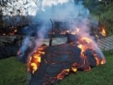 River Of Lava Closes Within 200 Yards Of Hawaiian Homes