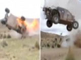 Raw Video: Rally Car Wipes Out, Bursts Into Flames