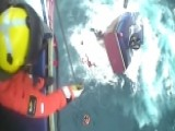 Remarkable Rescue: Fishermen Saved From Sinking Boat