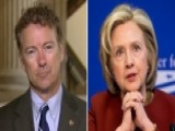 Rand Paul Sounds Off On Hillary Clinton's 'baggage'