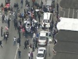 Rioters Destroy Baltimore Police Squad Car
