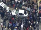 Rioting Rages In Baltimore After Freddie Gray Funeral