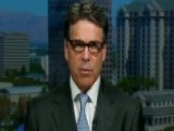 Rick Perry: Obama's Record Doesn't Live Up To His Rhetoric