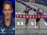 Runner Loses Race After Celebrating Too Early