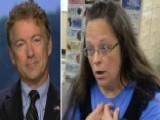 Rand Paul Defends Clerk Denying Same-sex Marriage Licenses