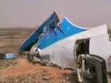 Report: Explosive Device May Have Brought Down Russian Plane