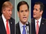Republican Candidates Clash In First Debate Of 2016