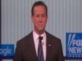 Rick Santorum Defends Decision To Attend Trump Rally