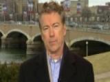 Rand Paul: Mideast Regime Changes Make US Less Safe