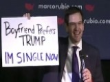 Rubio Continues To Poke Fun Of Trump On Campaign Trail