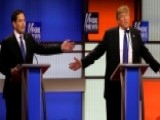 Republican Rivals Target Trump During Fox Debate In Detroit