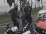 Road Rage Incident Leads To Sucker Punch, Brandished Gun