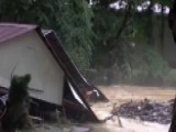 Raging Floodwaters Leave Hundreds Homeless In West Virginia
