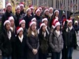 Randolph High School Choir Sings Medley Of Christmas Songs