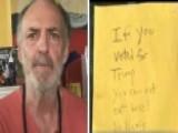 Restaurant Owner Defends Anti-Trump Sign