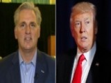 Rep. Kevin McCarthy: Trump Is Going To Push Us And Drive Us