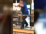 Restaurant Workers Gone Wild: Manager Dances On Buffet Bar