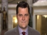 Rep. Gaetz Alleges 'extreme Pro-Hillary Clinton Bias' By FBI
