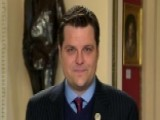 Rep. Gaetz Dismisses GOP Midterm Jitters: We're Not Worried