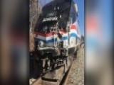 Rep. Denham: Train Crash Was A High-speed Collision