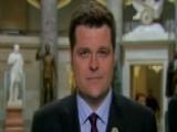 Rep. Gaetz: Democrats' Memo Will Need To Be Redacted