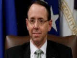 Rosenstein Requests Extension On Comey Memos Deadline