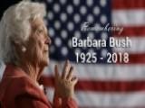 Remembering Former First Lady Barbara Bush