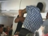 Raw Video Captures Mid-air Fight On American Airlines