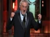 Robert De Niro Drops F-bombs At Tony Awards