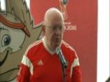 Russia UN Representative Hosts World Cup Watch Party