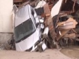 Raw Video: Recovery Crews Respond To Flooding In Japan