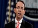 Republican Lawmakers Seek To Impeach Rosenstein