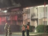 Raw Video: Fatal Motel Fire In Berrien County, Michigan