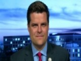 Rep. Matt Gaetz Reacts To Bruce Ohr's Notes About Steele