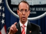 Rod Rosenstein Denies Report He Suggested Recording Trump