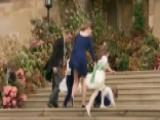 Royal Children Battle Wind At Princess Eugenie's Wedding