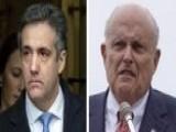 Rudy Giuliani Reacts To Michael Cohen's Sentencing