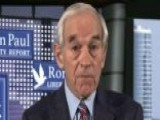 Ron Paul: I Fear The Market Bubble Bursting