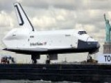 Space Shuttle Enterprise Moves To New Home