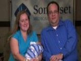 Storm Baby Delivered In Medical Shelter