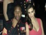 Sergeant Brings Kim Kardashian To Marine Ball