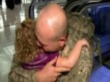 Santa Claus Makes Special Delivery To Get Military Dad Home